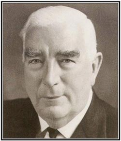 Robert Menzies - Primeminister of Australia. (1894 - 1977)